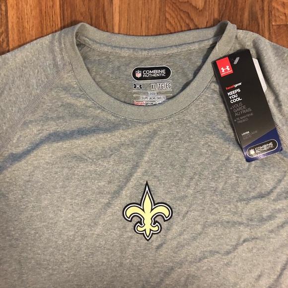under armour new orleans saints shirts